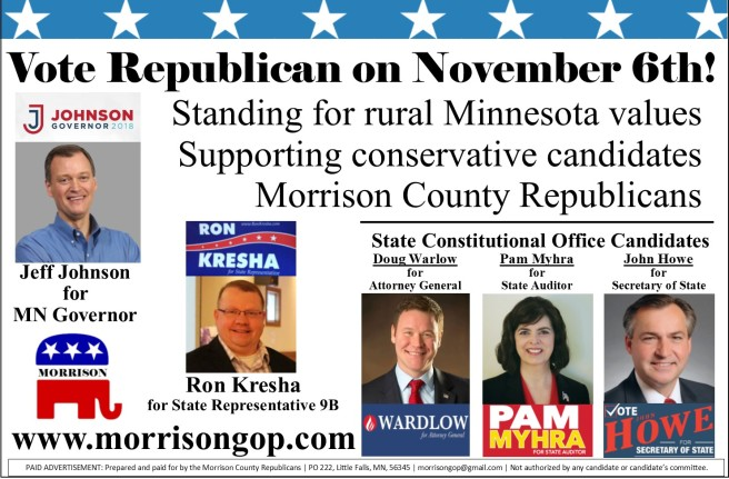MC GOP 6 col x 6.5 State Candidates- 2018